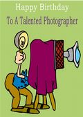 Photographer - Greeting Card